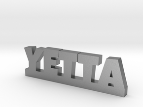YETTA Lucky in Natural Silver