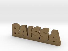 RAISSA Lucky in Natural Bronze