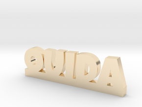 OUIDA Lucky in 14k Gold Plated Brass