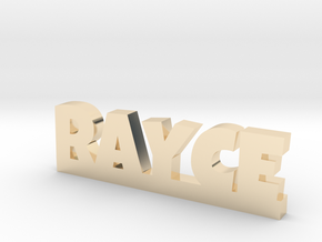 RAYCE Lucky in 14k Gold Plated Brass