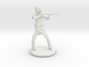 Soldier KarK98 in White Natural Versatile Plastic