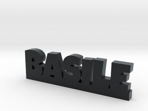 BASILE Lucky in Black Hi-Def Acrylate