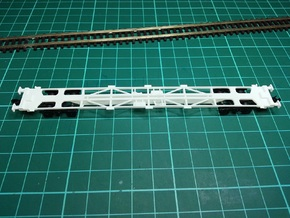 2 * KFA Wagon N Gauge 1:148 in Smooth Fine Detail Plastic