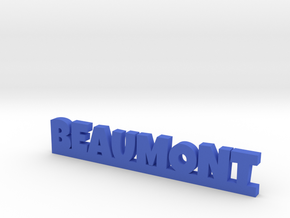BEAUMONT Lucky in Blue Processed Versatile Plastic