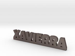 XAVIERRA Lucky in Polished Bronzed Silver Steel