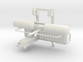 CCRX 40010 Upper Bolster Detail set 1 - Air Clyind in White Natural Versatile Plastic