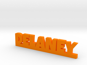 DELANEY Lucky in Orange Strong & Flexible Polished