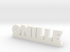 ONILLE Lucky in White Strong & Flexible Polished
