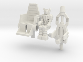 Waruder/Titan Kit for Skrapnel/Shrapnel in White Natural Versatile Plastic