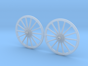 French WWI Era Wheel Set 54mm  in Frosted Ultra Detail