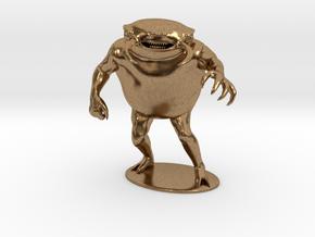 Umber Hulk Miniature in Natural Brass: 1:60.96