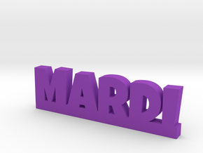 MARDI Lucky in Purple Processed Versatile Plastic