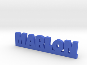 MARLON Lucky in Blue Strong & Flexible Polished