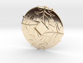 Hat Jewel Turban in 14k Gold Plated Brass