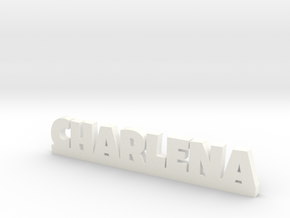 CHARLENA Lucky in White Strong & Flexible Polished