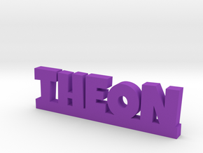 THEON Lucky in Purple Strong & Flexible Polished