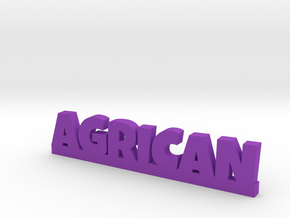 AGRICAN Lucky in Purple Strong & Flexible Polished