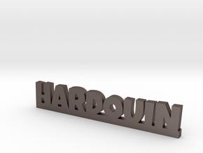 HARDOUIN Lucky in Polished Bronzed Silver Steel
