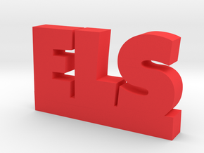 ELS Lucky in Red Processed Versatile Plastic