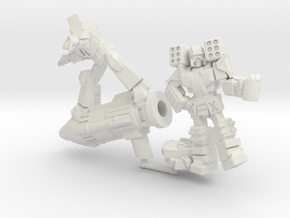 """""""When the Cons Are Away"""" Mini 2-Pack, 35mm in White Natural Versatile Plastic"""