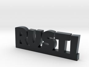 RUSTI Lucky in Black Hi-Def Acrylate