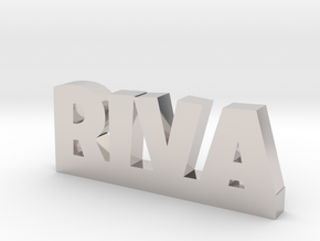 RIVA Lucky in Rhodium Plated Brass