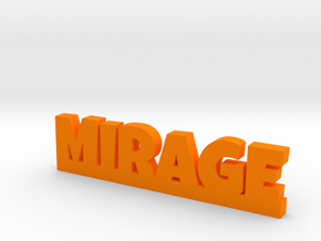 MIRAGE Lucky in Orange Processed Versatile Plastic