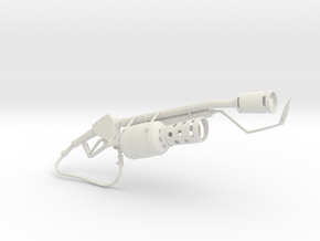 Flame Thrower in White Strong & Flexible