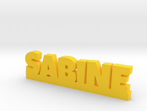 SABINE Lucky in Yellow Processed Versatile Plastic