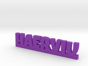 HAERVIU Lucky in Purple Processed Versatile Plastic
