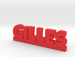 GILLES Lucky in Red Processed Versatile Plastic