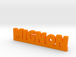 MIGNON Lucky in Orange Processed Versatile Plastic