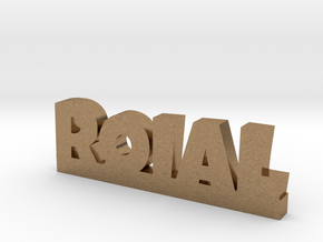 ROIAL Lucky in Natural Brass