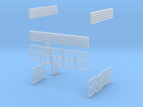 Chirk Signal Cabin Parts 12-19 in Smooth Fine Detail Plastic