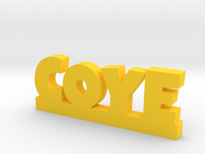 COYE Lucky in Yellow Processed Versatile Plastic