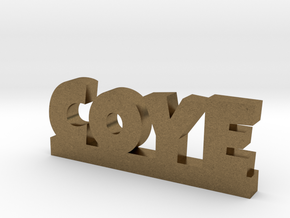 COYE Lucky in Natural Bronze