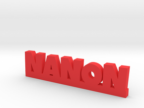 NANON Lucky in Red Strong & Flexible Polished