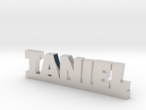 TANIEL Lucky in Rhodium Plated Brass
