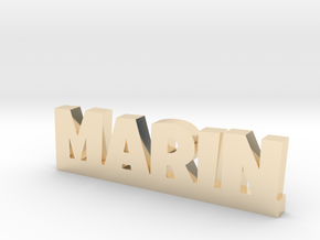 MARIN Lucky in 14k Gold Plated Brass