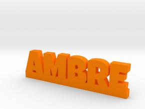 AMBRE Lucky in Orange Processed Versatile Plastic