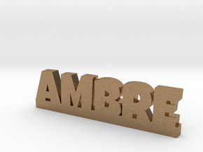 AMBRE Lucky in Natural Brass