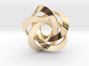 Pentator Pendant in 14K Yellow Gold
