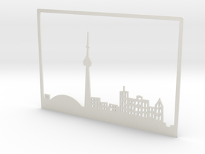 Toronto Skyline - 4 X 5.75 (S) in White Natural Versatile Plastic
