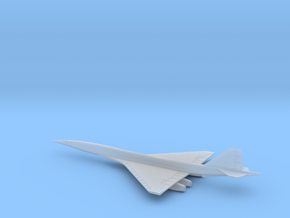 1/400 BOEING 2707-300 SUPERSONIC TRANSPORT SST in Smooth Fine Detail Plastic