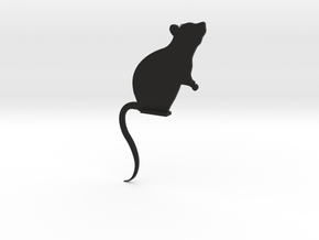 Door Mouse in Black Strong & Flexible