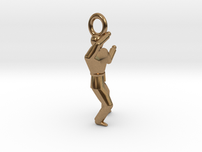Pendant - P4 in Natural Brass