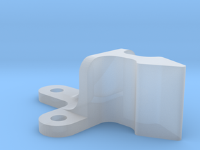 Roller Grab Latch Pt3 in Smooth Fine Detail Plastic