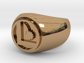 Legion Flight Ring - Size 14.5 in Polished Brass