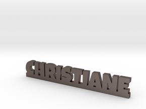 CHRISTIANE Lucky in Polished Bronzed Silver Steel