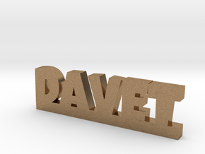 DAVET Lucky in Natural Brass